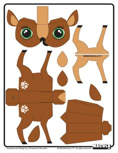 halloween 138 Different Free Printable Angel Wings Image detail for faon bambi paper toy template Bambi le faon 3d Paper Crafts, Paper Toys, Diy Paper, Paper Crafting, Foam Crafts, Paper Gifts, Fall Wallpaper Tumblr, Imprimibles Toy Story, Paper Animals