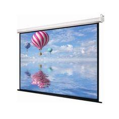 Motorized projector Screen Top Black drop 30.48 cm Border >> Type: - projector Screen, Size: - 10 Ft. x 6 Ft., Screen Type: - Wall Type Projector Screens, Display: - LED, Auto Lock: - No, No Connectivity >> #Bizsurface #ProjectorScreen #LuzonDzireProjectorScreen Home Theater Projectors, Cyber, Tapestry, Display, Led, Painting, Projector Screens, Screen Size, Size 12