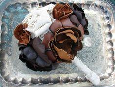 bridal bouquet  leather