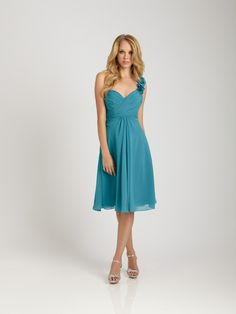 Tempting One Strap Chiffon Sweetheart Wrinkle 2013 Allure Bridesmaid Dress Allure Bridesmaid Dresses, One Shoulder Bridesmaid Dresses, Wedding Bridesmaids, Shoulder Dress, Shoulder Strap, Bridesmaid Ideas, Shoulder Length, Maid Of Honour Dresses, Criss Cross