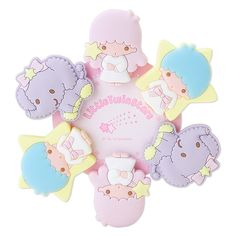 Little Twin Stars Rubber Clip Set (japan import) Little Twin Stars, Little Star, Hello Kitty Crafts, Hello Kitty Imagenes, Kawaii Crafts, Im So Fancy, Snoopy, Kawaii Accessories, Cute Posts