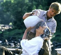 Out of Africa - one of the best scenes ever with Robert and Meryl.