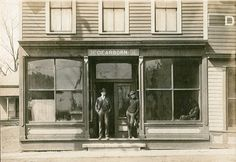 Description of . Waiting for the stagecoach in Dearborn. Photo courtesy of Dearborn Historical Museum Dearborn Michigan, Media Center, Looking Back, Waiting, Museum, History, Building, Places, People
