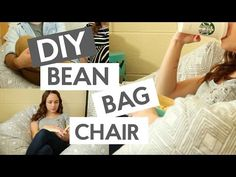 DIY Bean Bag Chair - A Little Craft In Your DayA Little Craft In Your Day