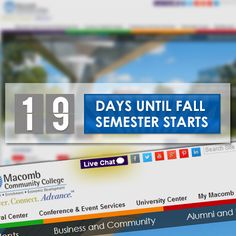 Have a question about Macomb that you need answered? Try the Live Chat feature on our new website and ask us! http://www.macomb.edu