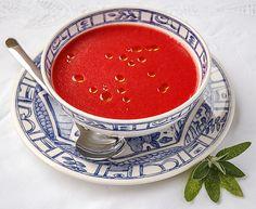 Sopa de sandía y tomate, fácil, deliciosa y fresca para el verano, según receta de Ferrán Adriá