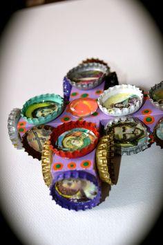 Retro kitsch Mexican saint crosses! -  Mexico Import Arts (Australia)