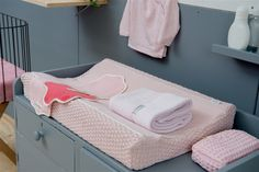 Koeka Changing mat cover Valencia - Baby Pink