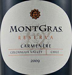 Mont Gras Careener Reserve, Cabernet Sauvignon and Syrah