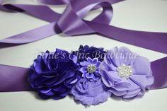 Faja maternidad púrpura de gran venta envoltura canasta