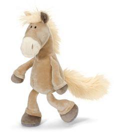 Nici dangling palomino plush horse, 25 cm