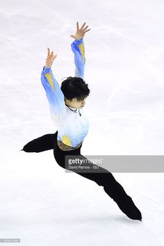 Yuzuru Hanyu of Japan performs during the Men short program final during day one of the ISU Grand Prix of Figure Skating Final 2015/2016 at the Barcelona International Convention Centre on December 10, 2015 in Barcelona, .