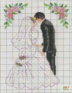 Esküvői ajándék | keresztszemes