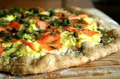 Lox Pizza