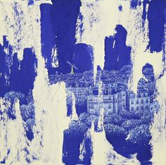 "Saatchi Online Artist JIEUN PARK; Painting, ""52. 4H30-paris"" #art"