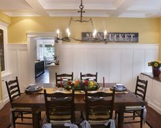 Dining Room +built-in Storage +rustic Design, Pictures, Remodel, Decor and Ideas - page 17