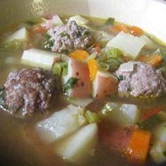 Homemade Albondigas Soup - Allrecipes.com Just add rice.