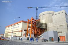 Hongyanhe nuclear power station in NE China - Xinhua Energy Projects, Nuclear Power, Solar, Sunday, Plant, Construction, The Unit, Age, China