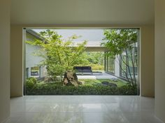 憩いの中庭のある邸宅|Premium Design Selection