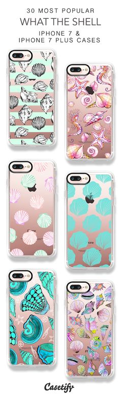 30 Most Popular What The Shell Protective iPhone 7 Cases and iPhone 7 Plus Cases. More Beach iPhone case here > https://www.casetify.com/collections/top_100_designs#/?vc=U2JTyvECKh