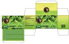 13 Tea Box Design Template Images - Tea Bag Box Template, Template for Tea Packaging Box Design and Template for Tea Packaging Box Design / Newdesignfile.com