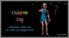 Children Say - eclectica