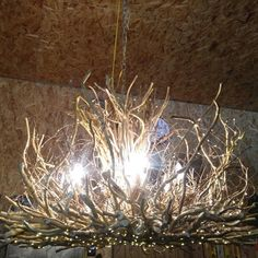 Finished the 1st of 2 Empresse for Susan today!  Ready to start filling in No. 2 Yeah!  6 light plus a downlight 509 LEDs 42x42x28 #Handcrafted #Honeysuckle #vine #Lighting #chandeliers #rustic #home #decor #interior #design #OOAK #Twiglight