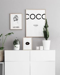 Coco Chanel tavla | Poster och prints med fashion citat | Affischer online