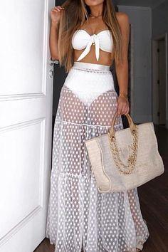 Jolie Lingerie, Long Maxi Skirts, Tutu Skirts, White Maxi Dresses, Fashion Outfits, Womens Fashion, Cheap Fashion, Style Fashion, Dress Brands