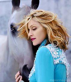 Madonna horse