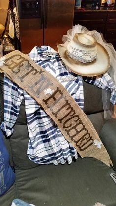 Getn Hitched Cowgirl Theme Bachelorette