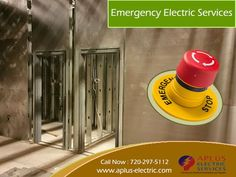 APlus is a company of emergency industrial and Residential Electricians in Denver CO. We offer complete range of emergency electric repair services, and are available around the clock, 24x7! Our offerings for emergency electrical service in Denver range from small electrical short circuits to complete replacement of electrical boards/components. view our Services at http://www.aplus-electric.com/services.html