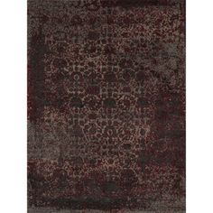 @Overstock - Hastings Red Vintage Rug (7'7 x 10'6) - Vintage with a modern twist, the Hastings rug is a sure classic.  The intentional, but slight, high-low pile accentuates the antique patterns for a shabby-chic look.  http://www.overstock.com/Home-Garden/Hastings-Red-Vintage-Rug-77-x-106/9629698/product.html?CID=214117 $466.99