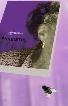 Sofi Oksanen: Puhdistus Libraries, Fiction, Reading, Purple, Music, Books, Movie Posters, Movies, Musica