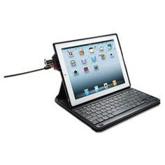 KeyFolio Secure Case/Keyboard/Lock, for iPad 2/3, Black