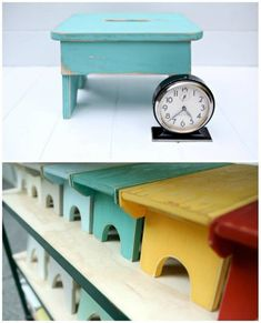 121 Best Step Stools Images On Pinterest Banquettes