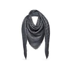 27b62e6acd58 Monogram Shawl - Accessories   LOUIS VUITTON Gucci Tuch, Louis Vuitton Schal,  Silk Wool