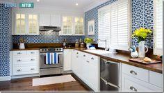 decor happy: Ikea Kitchens: Budget friendly and stylish
