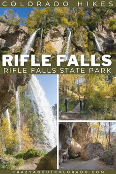 Rifle Falls State Park is small yet offers much more than expected. From caves