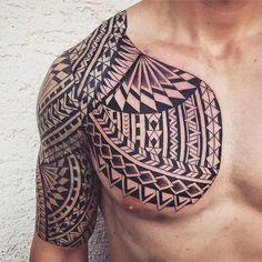 Maori tribal tat