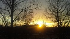 Sunset. 13 January 2015