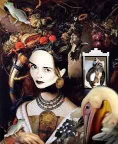 "Saatchi Art Artist Banu Haznedar; Painting, ""Time Travel - Reincarnation"" #art"