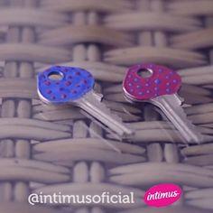 Suas chaves nunca mais serão as mesmas.. Chega de confundir na hora de procurar a chave certa.. Vamos dar personalidade pra cada uma delas  @dicadaka para Intimus
