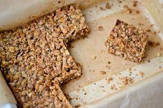 Quinoa granola bars - Scaling Back