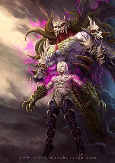 Cardes the Malevolent from Brave Frontier by luffie.deviantart.com on @DeviantArt