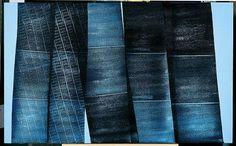 Hans Hartung, acrylique sur toile (1976)