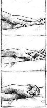 ...just want to hold your hand.