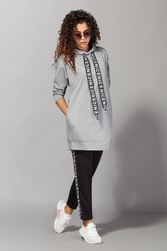 Sporty Outfits, Fashion Outfits, Sporty Fashion, Mod Fashion, Fashion Women, Joggers Outfit, Looks Plus Size, Latest African Fashion Dresses, Pants For Women