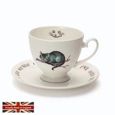 - イギリス雑貨と紅茶とハーブティーのお店 English Specialities ミセスムーア 不思議の国のアリス チェシャ猫 カップ&ソーサー