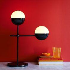 Kate Spade Saturday Globe Table Lamp (West Elm)